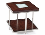 Magnussen Rectangular End Table Malevich MG-T2123-03