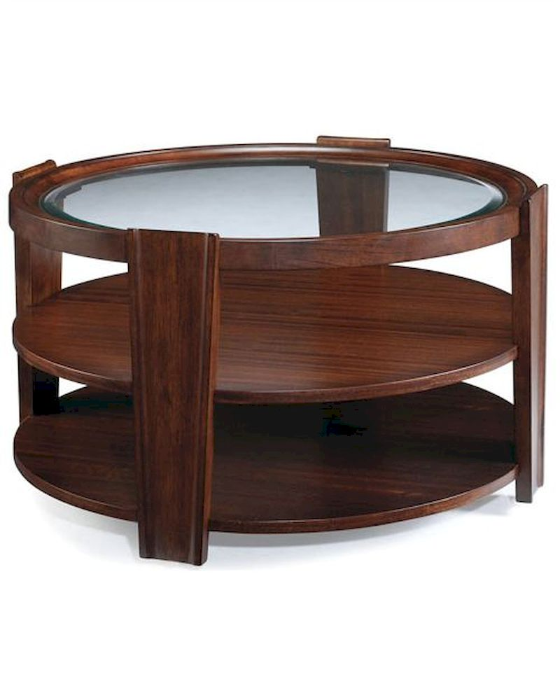 Magnussen Round Cocktail Table Nuvo Mg T1559 45