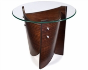 Magnussen Round End Table Contour MG-T1696-05