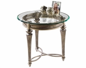 Magnussen Round End Table Galloway MG-37504
