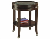 Magnussen Round End Table Lakefield MG-T1258-05