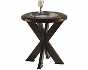 Magnussen Round End Table Roxboro MG-T1253-05
