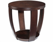 Magnussen Round End Table Sotto MG-T1579-05