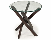 Magnussen Round End Table Xenia MG-T2184-05