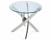 Magnussen Round End Table Zila MG-T2050-05