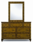 Magnussen Seven Drawer Dresser & Mirror Palm Bay MG-B1469-20-40