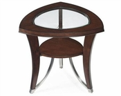 Magnussen Shaped End Table with Shelf Kayla MG-T2286-22
