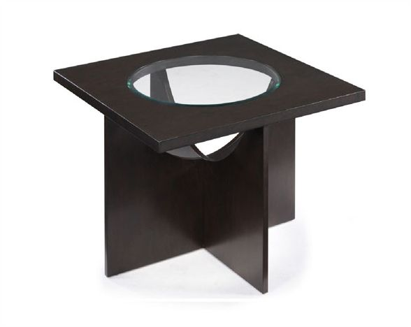 Magnussen Square Cocktail Table W Stools Ozino MGT - Cocktail table with 4 stools