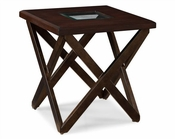 Magnussen Square End Table Hennerly MG-T1897-01