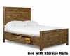 Magnussen Transitional Panel Bed Braxton MG-Y2377-54BED