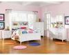Magnussen Youth Panel Bedroom Set w/ Storage Rails Kenley MG-Y1875SET5