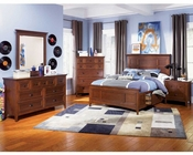 Magnussen Youth Panel Bedroom Set 2 Storage Rails Riley MG-Y1873SET2ST