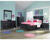 Magnussen Youth Panel Bedroom Set w/Storage Rails Bennett MG-Y1874SET3