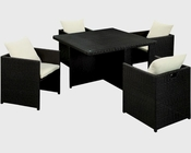 Outdoor Wicker Rattan Dining Set by Modway MY-EEI-963EXPWHISET