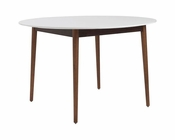 Manon Round Dining Table by Euro Style EU-90195WHT