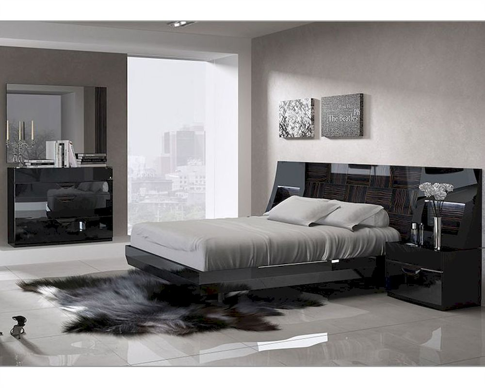. marbella bedroom set in modern style mr