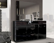 Marbella Double Dresser and Mirror in Modern Style 33191MR