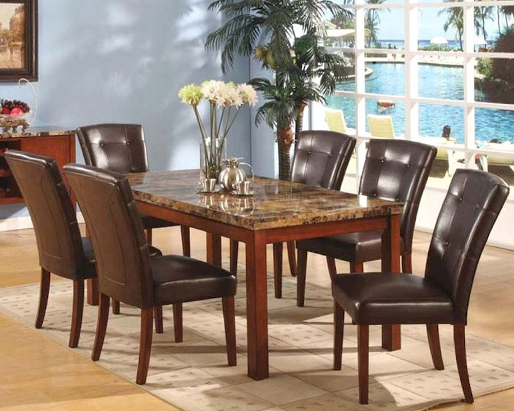 Marble Top Dining Set Mo 8812