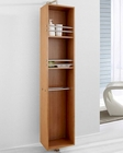 Marcel 14in Chestnut Side Cabinet by Virtu USA VU-ESC-711-CH