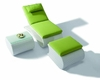 Marcella Outdoor Patio 3pc Sun Bathing Chaise Set 44PH03