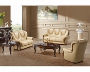 Marthena Furnishing Yellowstone Finish Sofa Set MF-9005