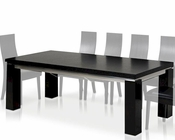 Maxi Modern Black Oak Dining Table 44DMAXI-SET