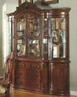 MCF Furniture Antique Cherry Buffet and Hutch MCFD6005HBH