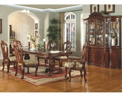 MCF Furniture Antique Cherry Dining Set MCFD6005