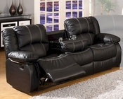 MCF Furniture Black Reclining Sofa MCFSF3591S