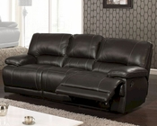 MCF Furniture Reclining Black Sofa MCFSF3609S
