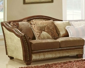 MCF Furniture Traditional Left Loveseat MCFSF2780LL