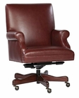 Merlot Leather Executive Chair by Hekman HE-79250M