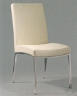 Metal Dining Chair in Ivory OL-DC07