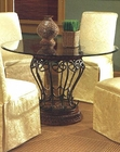 Metal / Glass Dining Table CO-120031