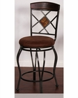 Metal Swivel BarStool by Sunny Designs SU-1877DC