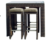 Miami 5pc Bar Set by Sunny Designs SU-4752-BR2s