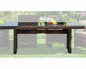 Miami Dining Table w/ Umbrella Hole by Sunny Designs SU-4752-87