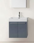 Midori Grey 24in Single Vanity Cabinet by Virtu USA VU-JS-50124-GR-PRT