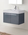 Midori Grey 36in Single Vanity Cabinet by Virtu USA VU-JS-50136-GR-PRT