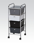 Mobile Organizer w/ 4 Drawers by Acme Furniture AC92105