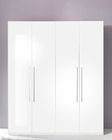 Modern 4 Door Wardrobe in White Made in Italy 33B710