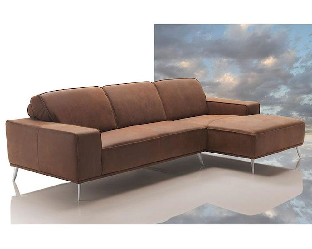modern africa leather sectional sofa made in italy 44l6026. Black Bedroom Furniture Sets. Home Design Ideas