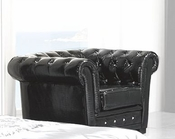 Modern Arm Chair Valencia in Black Made in Spain 33B258
