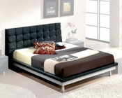 Modern Bed in Black Made in Spain 33B52