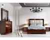Modern Bedroom Set in Walnut Carmen 33131CR