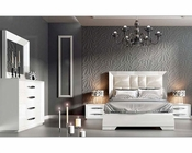 White Modern Bedroom Set Carmen 33131CA