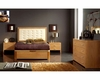 Modern Bedroom Set in Maple Finish Made in Spain 33B21