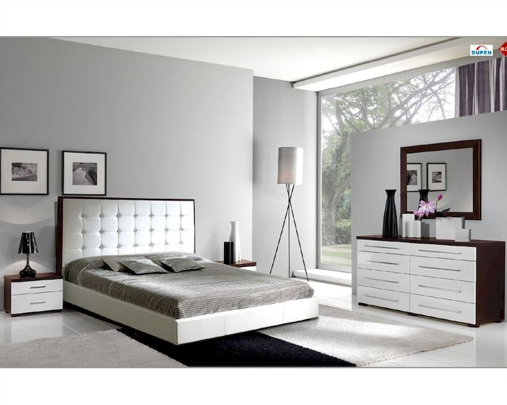 Modern bedroom set penelope and luxury combo 3313pl for Luxury modern bedroom