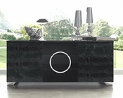 Modern Black Buffet Cruz European Design Made in Spain 33D74