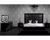 Modern Black Crocodile Bedroom Set 44B211SET